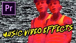 TRIPPY MUSIC VIDEO EFFECTS by Lil Skies (Premiere Pro Tutorial)