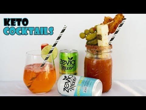 Keto Cocktail Recipes With Zevia Mixers | Keto Bloody Mary #AD