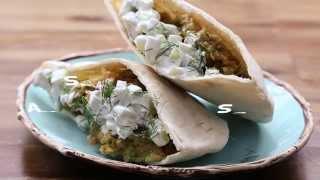 How To Make Falafel And Cucumber Sauce | Vegetarian Recipes | Allrecipes.com