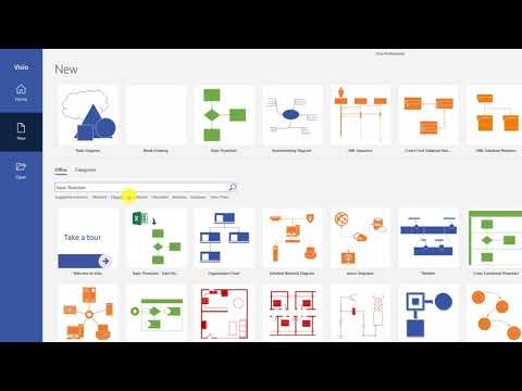 Microsoft Visio Diagrams - Online Training Course - YouTube
