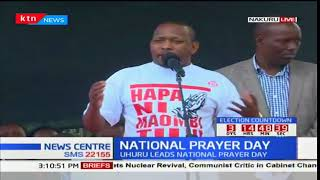 Governor Mike Sonko's speech during the National prayer day in Nakuru