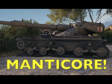 WOT - Manticore Spotted! | World of Tanks