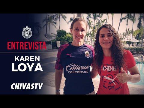 Karen Loya, nuevo refuerzo de Chivas Femenil   Entrevista