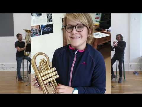 Vidéo - présentation d'instruments : les cuivres