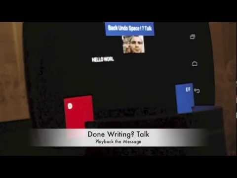 Video of Eye Tracker - Write Messages