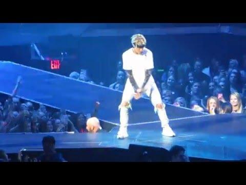 Justin Bieber- No Sense/Hold On Tight Live Purpose Tour Atlanta Day 2 4/13/2016