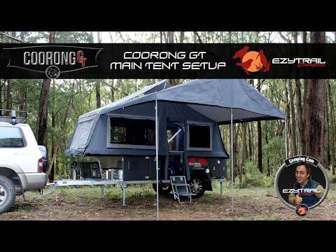Coorong Gt Front Fold Camper Trailer Ezytrail Camper