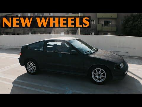 Honda CRX build part 2 | New wheels!