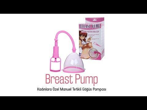 Kadınlara Özel Manuel Tetikli Göğüs Pompası