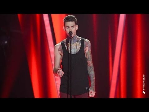 Matthew Garwood Sings All I Ask Of You | The Voice Australia 2014