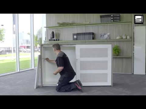 SWAN Slide & Go interieur montage legbord