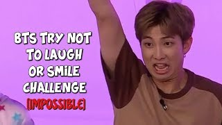 BTS TRY NOT TO LAUGH OR SMILE CHALLENGE #2 [IMPOSSIBLE]