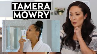 Tamera Mowry's Skincare Routine: My Reaction & Thoughts | #SKINCARE
