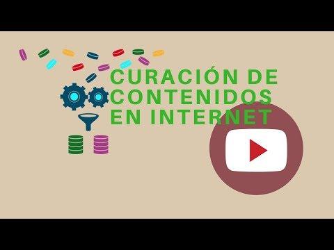 Curación de contenidos, contenidos digitales