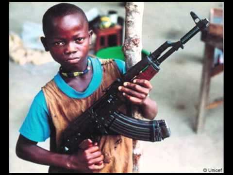 Child Soldiers in Liberia during Civil War