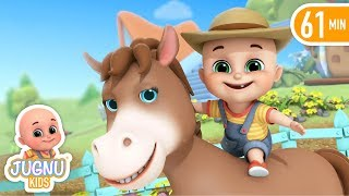 Baa Baa Black Sheep - Nursery Rhymes Compilation from Jugnu Kids