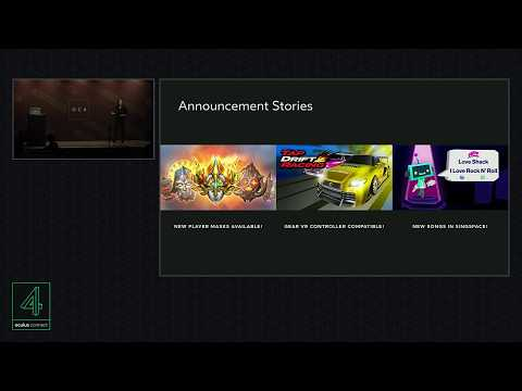 Oculus Connect 4 | Making Content Discoverable: Explore, Events, Search, and More