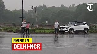 Rain lashes parts of Delhi-NCR; brings relief from sultry weather - Download this Video in MP3, M4A, WEBM, MP4, 3GP