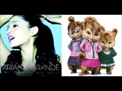 The Way - Ariana Grande Feat. Mac Miller (Chipmunk Version)