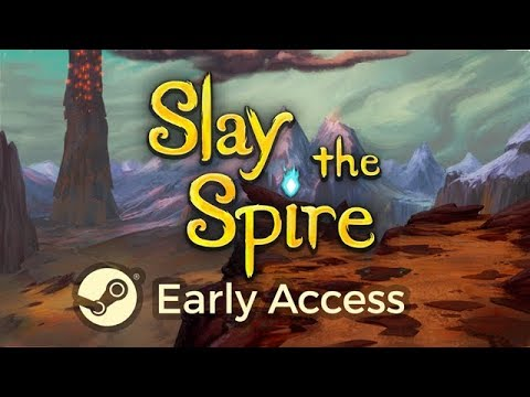 Slay the Spire - Early Access Launch Trailer thumbnail