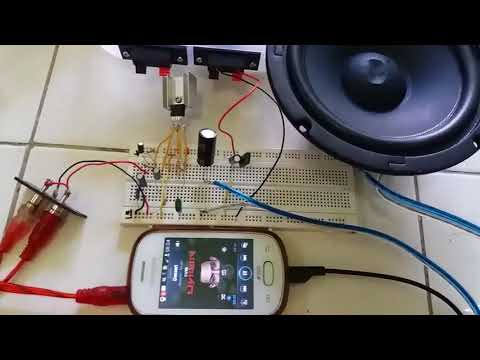 12 WATT (MONO) AUDIO AMPLIFIER USING IC TDA 2040
