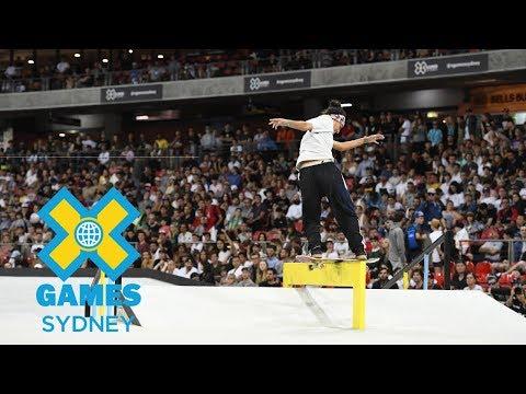 Mariah Duran wins Women's Skateboard Street gold | X Games Sydney 2018