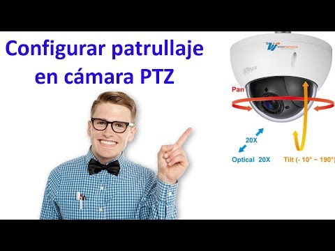 Configuración Patrullaje PTZ Dahua desde DVR NVR