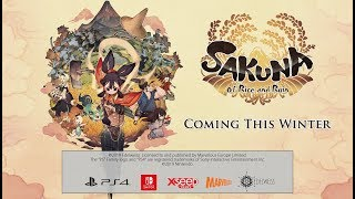 Sakuna: Of Rice and Ruin - Announcement Trailer! (Nintendo Switch)