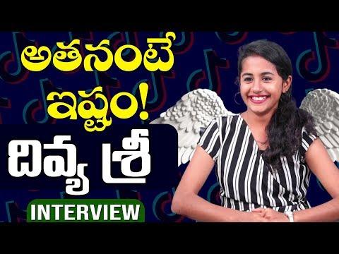 Tik Tok Divya Sree INTERVIEW | Top Telugu TV Tik Tok Stars Interviews | Tiktok Divyasree