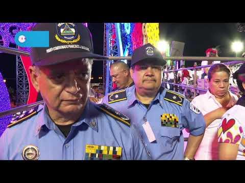 Comisionado Francisco Díaz destaca participación del pueblo y respaldo al Presidente Daniel Ortega