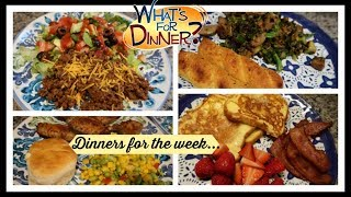 What I Cooked & Ate for dinner this week | Dinner Ideas to Cook at Home