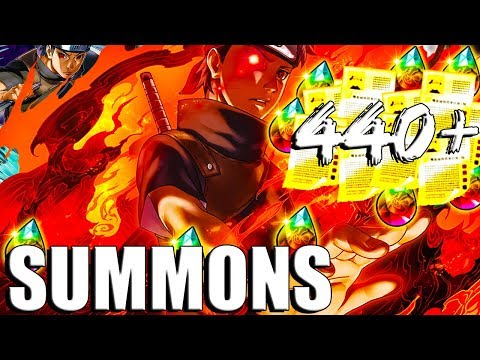 the 5 GOLD MULTI of my DREAMS?! NARUTO BIRTHDAY SUMMONS (ALL STEPS
