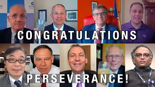 Space Agency Leaders Send Congratulations to Mars Perseverance