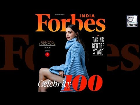 Deepika Padukone Becomes The First Woman To Enter Top 5 In Forbes' Richest Indian Celebs List