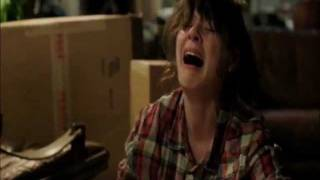 New Girl - Zooey Deschanel crying scene