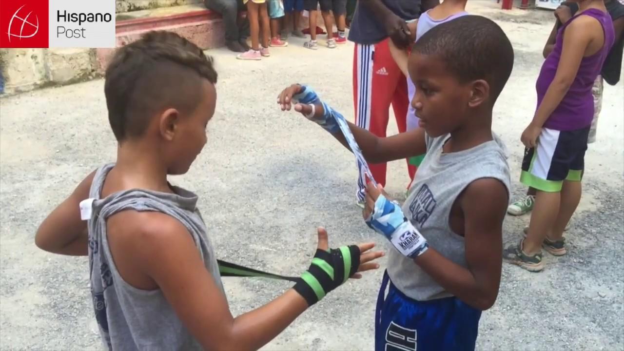 Million dollar babies en La Habana: el sueño de los niños boxeadores