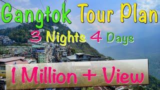 Gangtak Tour Plan | 3 Nights 4 Days Gangtok Tour Package