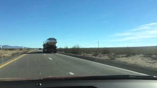 Drive from Las Vegas to Grand Canyon Time Lapse, stop at Hoover Dam