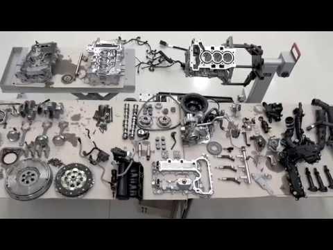 Peugeot 308 SW 1,2 PureTech - dismantle the engine (english subtitles)