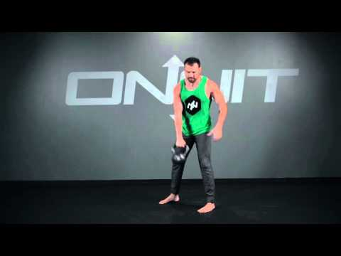 Kettlebell One Arm Rotational Swing