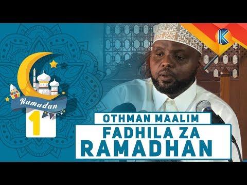 LIVE: SHEIKH OTHMAN MAALIM - FADHILA ZA RAMADHAN