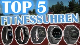 TOP 5 FITNESSTRACKER 2021 | Fitnessuhren Vergleich