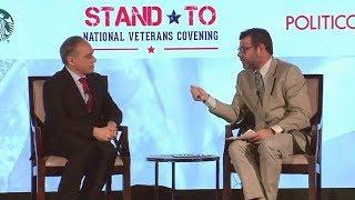 Veterans Affairs Sec. Shulkin and Laura Bush. Stand-To: A National Veterans Convening. Bush Center