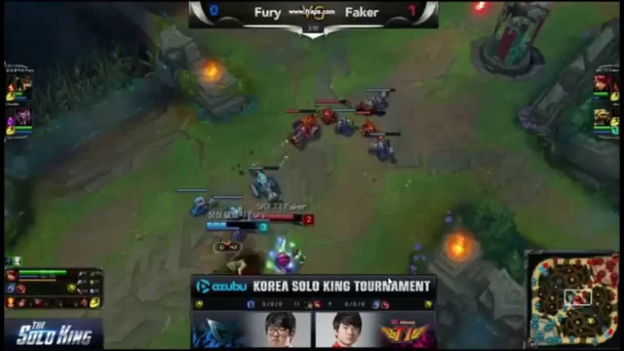 LMHT: Faker làm mưa làm gió tại giải The Solo King 1v1 Hàn Quốc