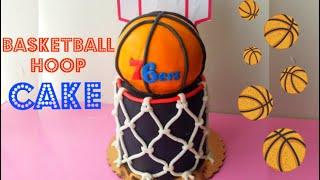 Basketball Hoop Cake | Marishas Couture Cakes