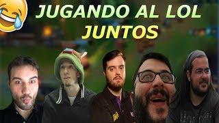 DREAM TEAM Mejores Momentos - Alexelcapo, Ibai, Knekro, Revenant Y Felipez360 Juegan Al Lol Juntos