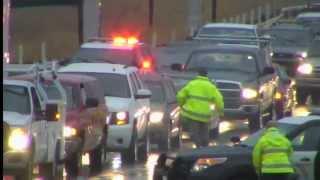 Rain Causes I-580 Big Rig Accident , CHP Arrest Stolen Vehicle Suspect 11-2-15