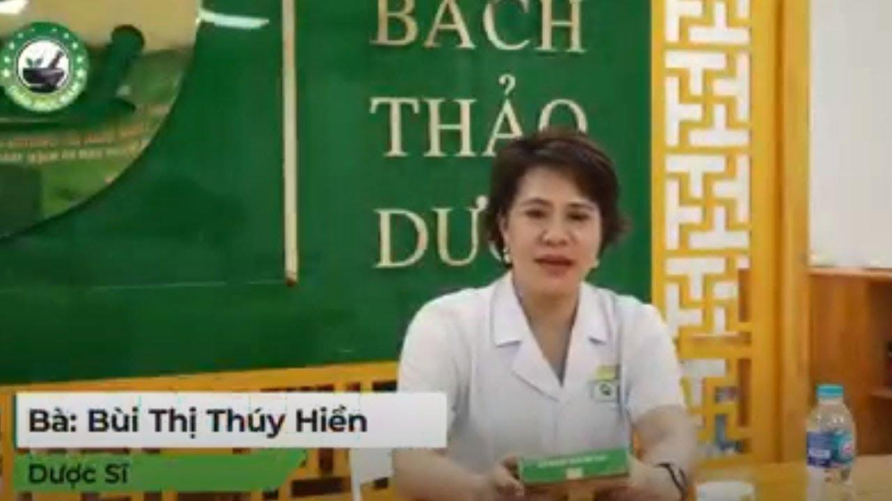 Dược sĩ Bùi Thùy Hiền giám đốc kinh doanh thảo mộc nam hệ thống nhà thuốc Nghệ An