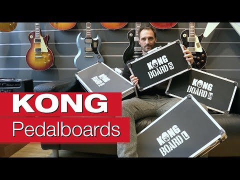 KONG BOARD Pedalboard Case  S - XL Effekt-Board-Review von session