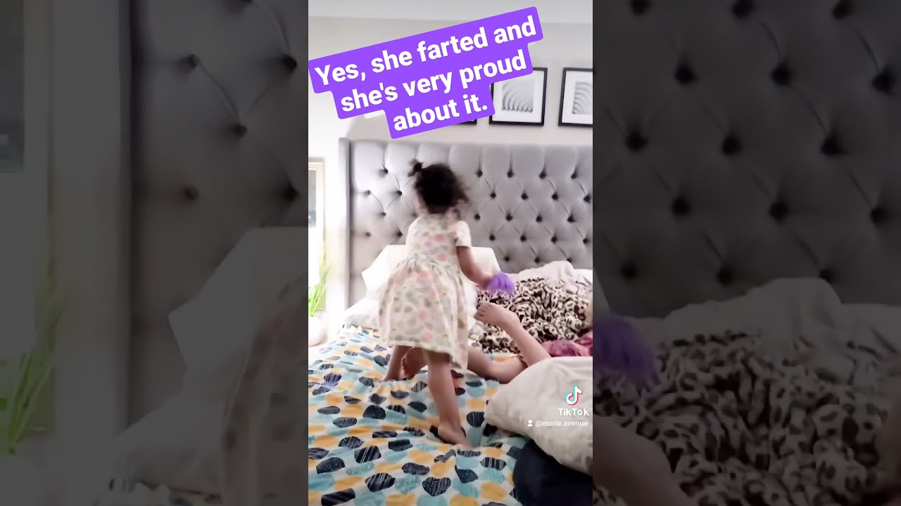 Baby Farts and Think it's Funny